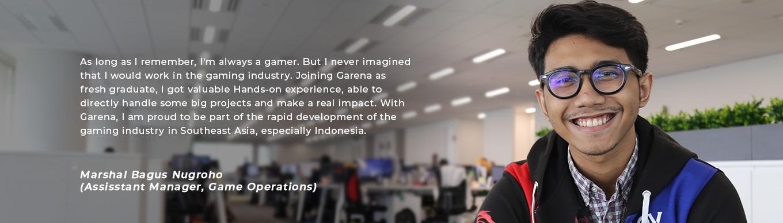 Career Portal - Garena Online